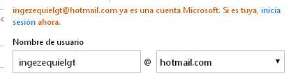 registrarse en hitmail