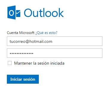 cambiar contraseña de Hotmail