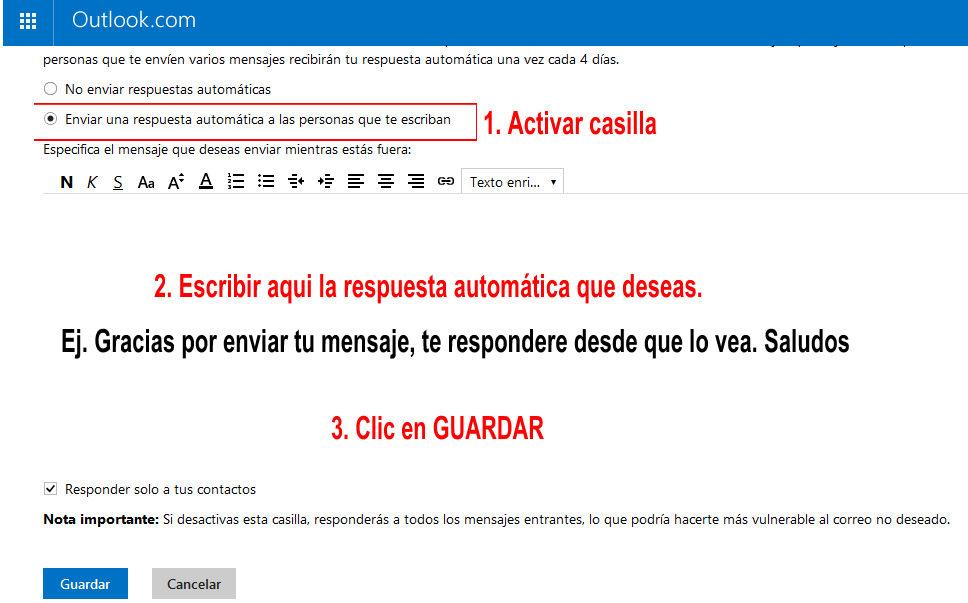 enviar mensaje automatico